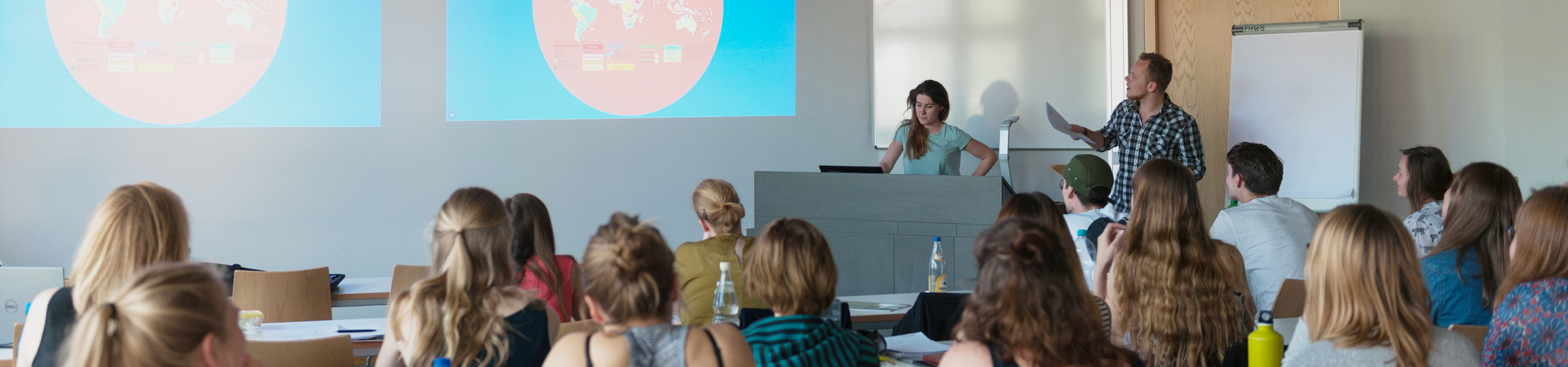 Vorlesung Master International Social Work with Refugees and Migrants
